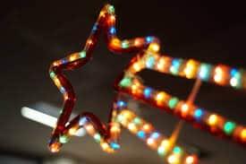 χριστουγεννιατικη διακοσμηση με αστερι