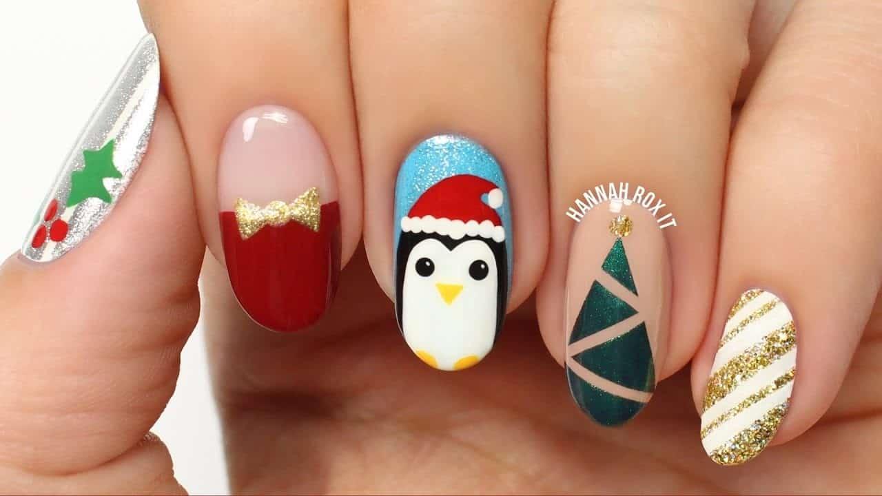πιγκουινος nail art