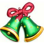 ρετρο χριστουγεννα καμπανες πρασινες