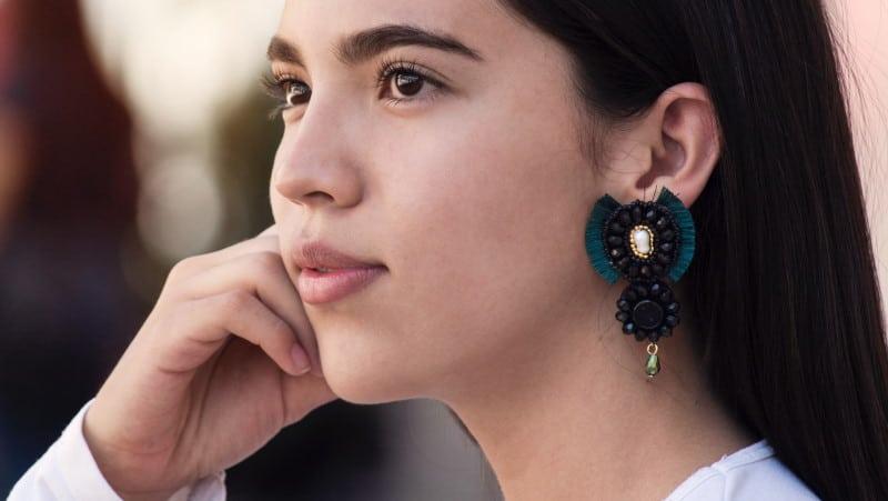Μεγάλα ιδιαίτερα σκουλαρίκια